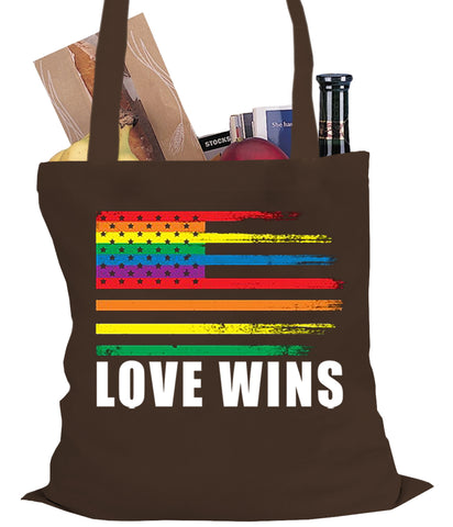 Love Wins - Gay Marriage Equality Tote Bag