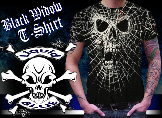 "Liquid Blue ""Black Widow"" T-Shirt"