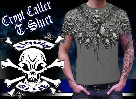 "Liquid Blue ""Crypt Caller"" T-Shirt"
