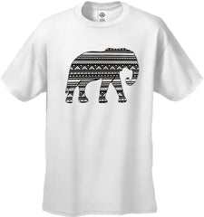 Lucky Aztec Elephant Men's T-Shirt