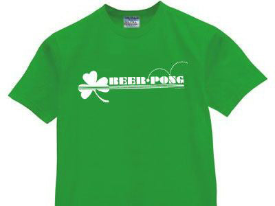 Lucky Beer Pong Men's T-Shirt