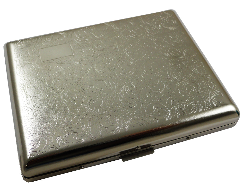Luxury Paisley Full-Pack Cigarette Case (For Regular Size & 100's)