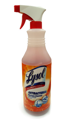 Lysol Antibacterial Kitchen Cleaner Diversion Safe (Working Spray Bottle)
