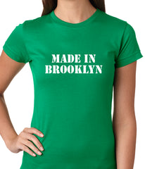 Made In Brooklyn Ladies T-shirt