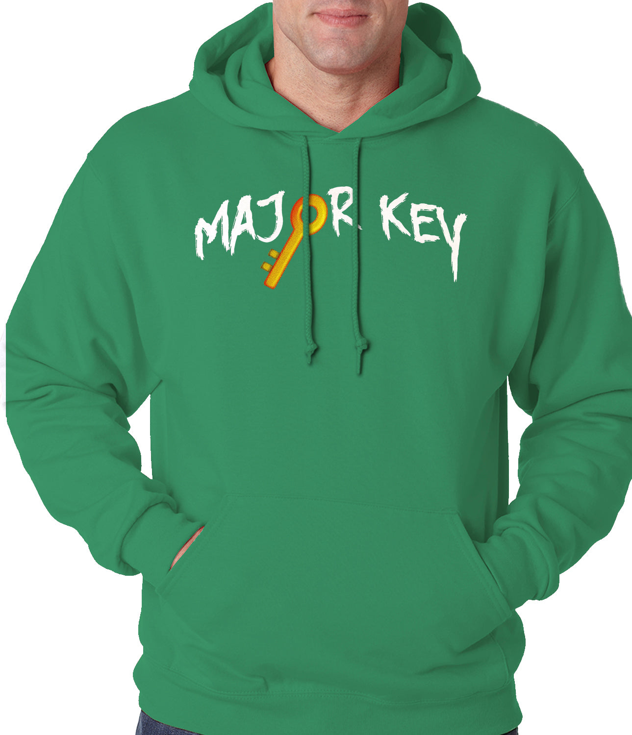 Major Key To Succes Emoji Key Adult Hoodie