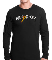 Major Key To Succes Emoji Key Thermal Shirt