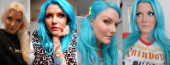 Manic Panic Hair Dye -  Atomic Turquoise Manic Panic Amplified Hair Dye