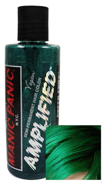Manic Panic Amplified Hair Dye - Green Envy