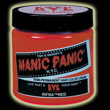 Manic Panic Hair Dye - Infra Red Hair Color