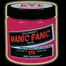 Manic Panic Hair Dye - Red Passion Hair Color