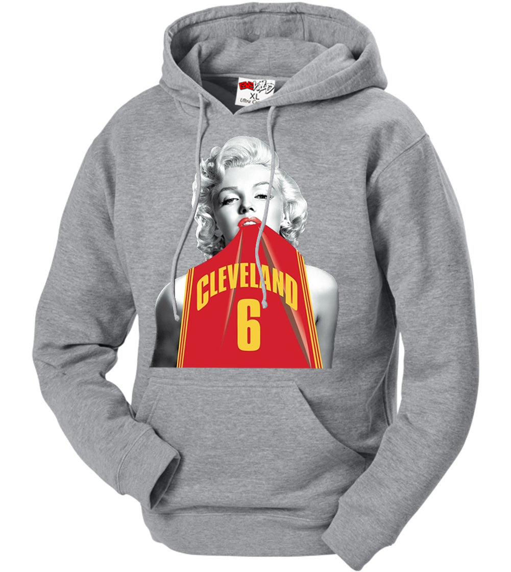 Marilyn Basketball Jersey #6 Adult Hoodie