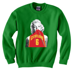 Marilyn Basketball Jersey #6 Crewneck Sweatshirt