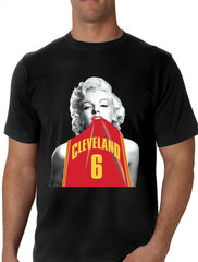 Marilyn Basketball Jersey #6 Men's T-Shirt