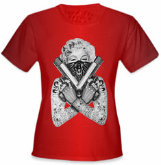 "Marilyn Monroe ""Gangster"" Girls T-Shirt"