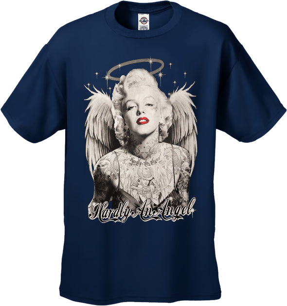 "Marilyn Monroe ""Hardly An Angel"" Men's T-Shirt"