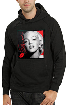 Marilyn Monroe Lipstick Classic Celebrity Adult Hoodie