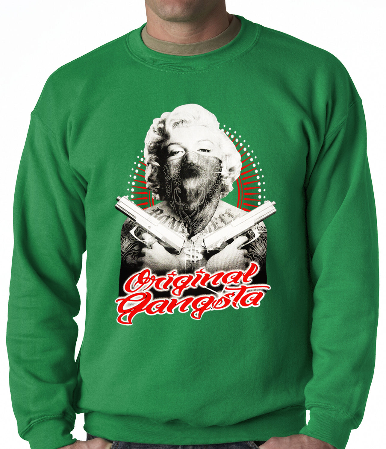 "Marilyn Monroe ""Original Gangster"" Crewneck"