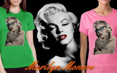 Marilyn Monroe Retro Tattoo Girl's T-Shirt