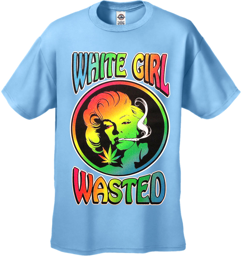 Marilyn Monroe - White Girl Wasted Men's T-Shirt