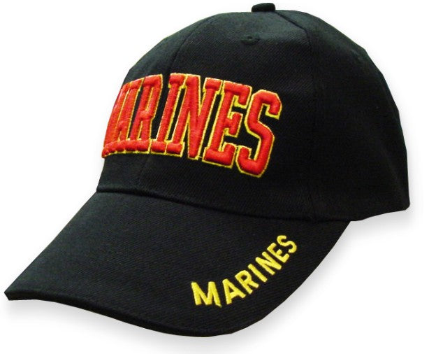 Marines Baseball Hat (Black)