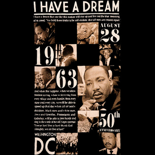 Martin Luther King Anniversary T-Shirt (Men's)