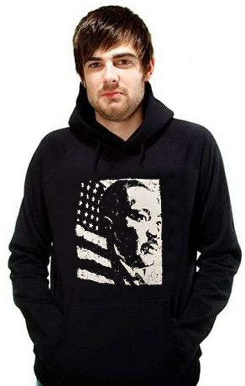 Martin Luther King Vintage Portrait Men's Hoodie