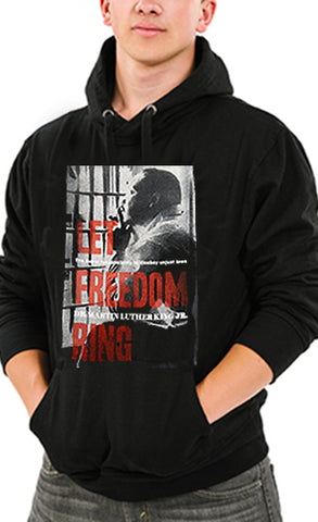 Martin Luther King Vision  Adult Hoodie