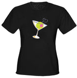 Martini Glass Girls T-Shirt