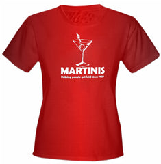Martinis Since 1927 Girls T-Shirt