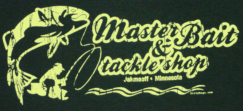 Master Bait And Tackle Shop T-Shirt