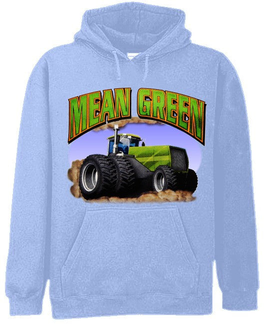 Mean Green Farming Machine Hoodie