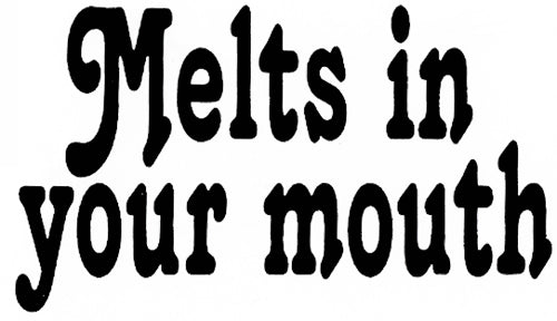 Melts In Your Mouth Thong