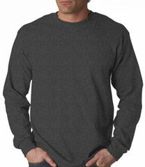 Mens Premium Long Sleeve T-Shirt (Dark Heather Grey)