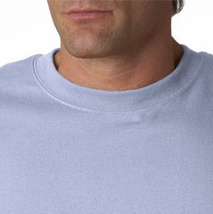 Mens Premium Long Sleeve T-Shirt (Light Blue)