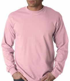 e7c97824 Mens Premium Long Sleeve T-Shirt (Light Pink) – Bewild