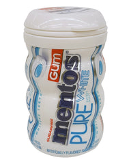 Mentos Pure White Sugar Free Gum Canister Diversion Safe