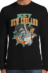 Miami Fan - Hey New England Thermal Long Sleeve Shirt