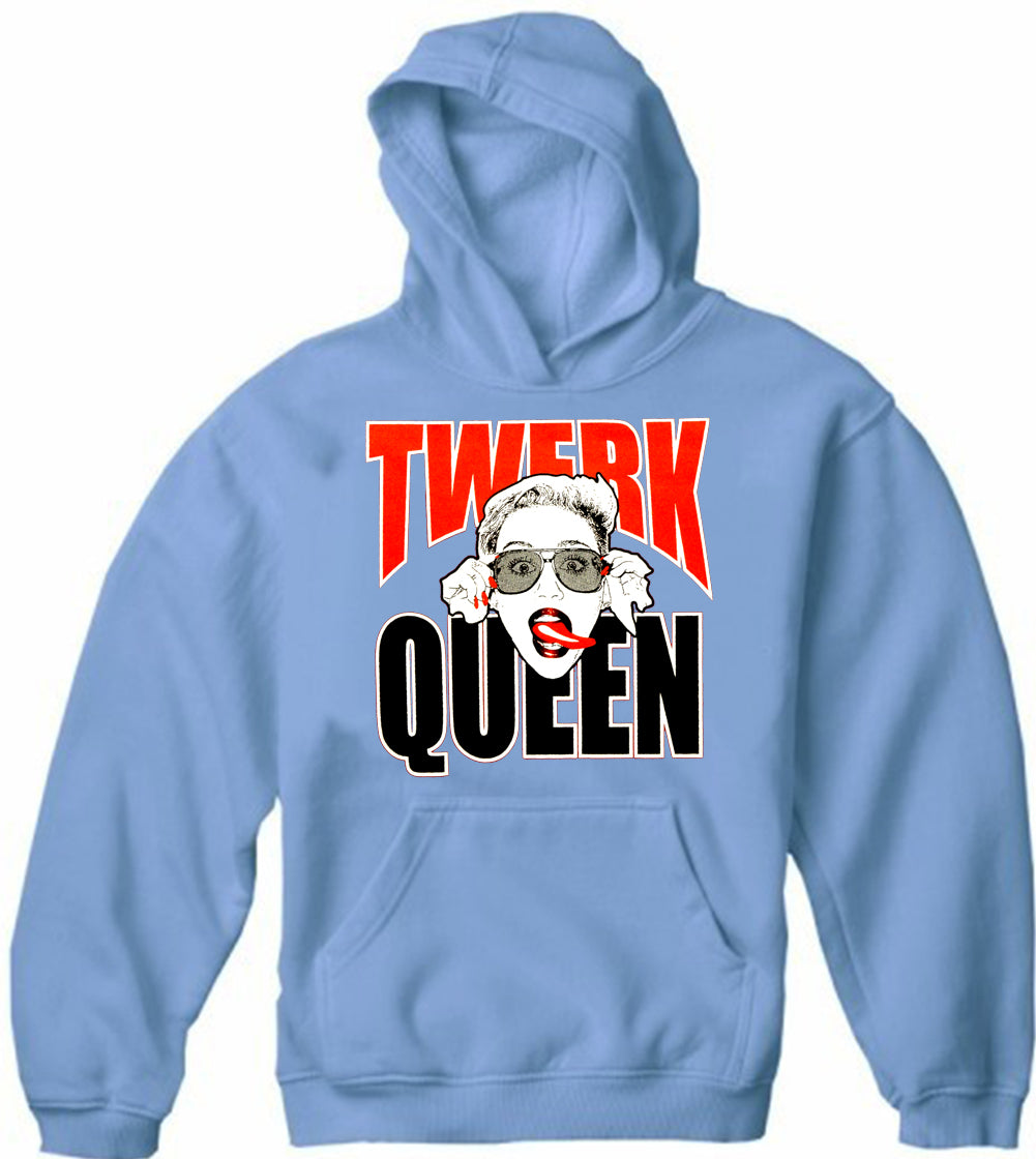 Miley Twerk Queen Adult Hoodie