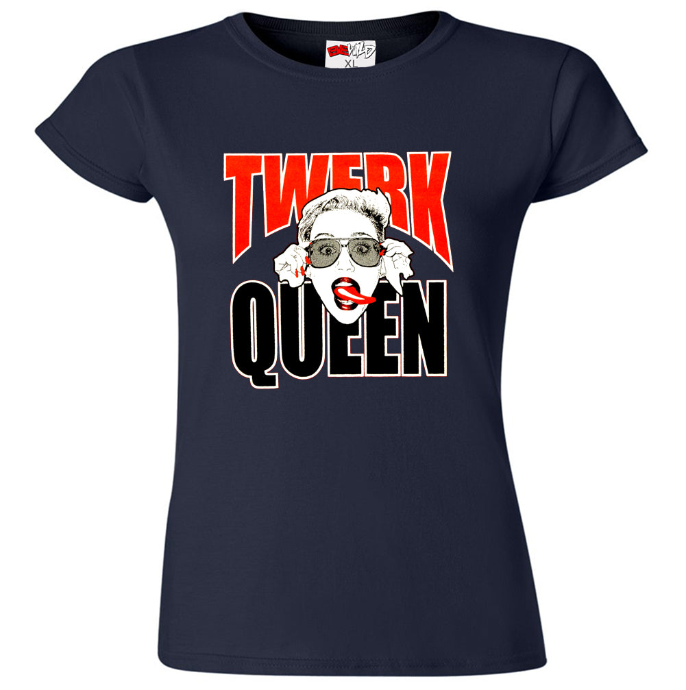 Miley Twerk Queen Girl's T-Shirt