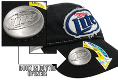Miller Lite Bottle Opener Hat