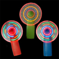 Mini Light Show Hand Held Rave Fan