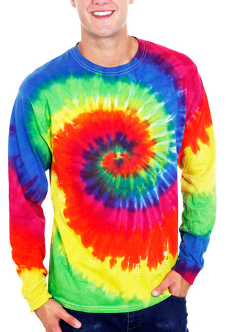 Moondance Tie Dye Long Sleeve T-Shirt