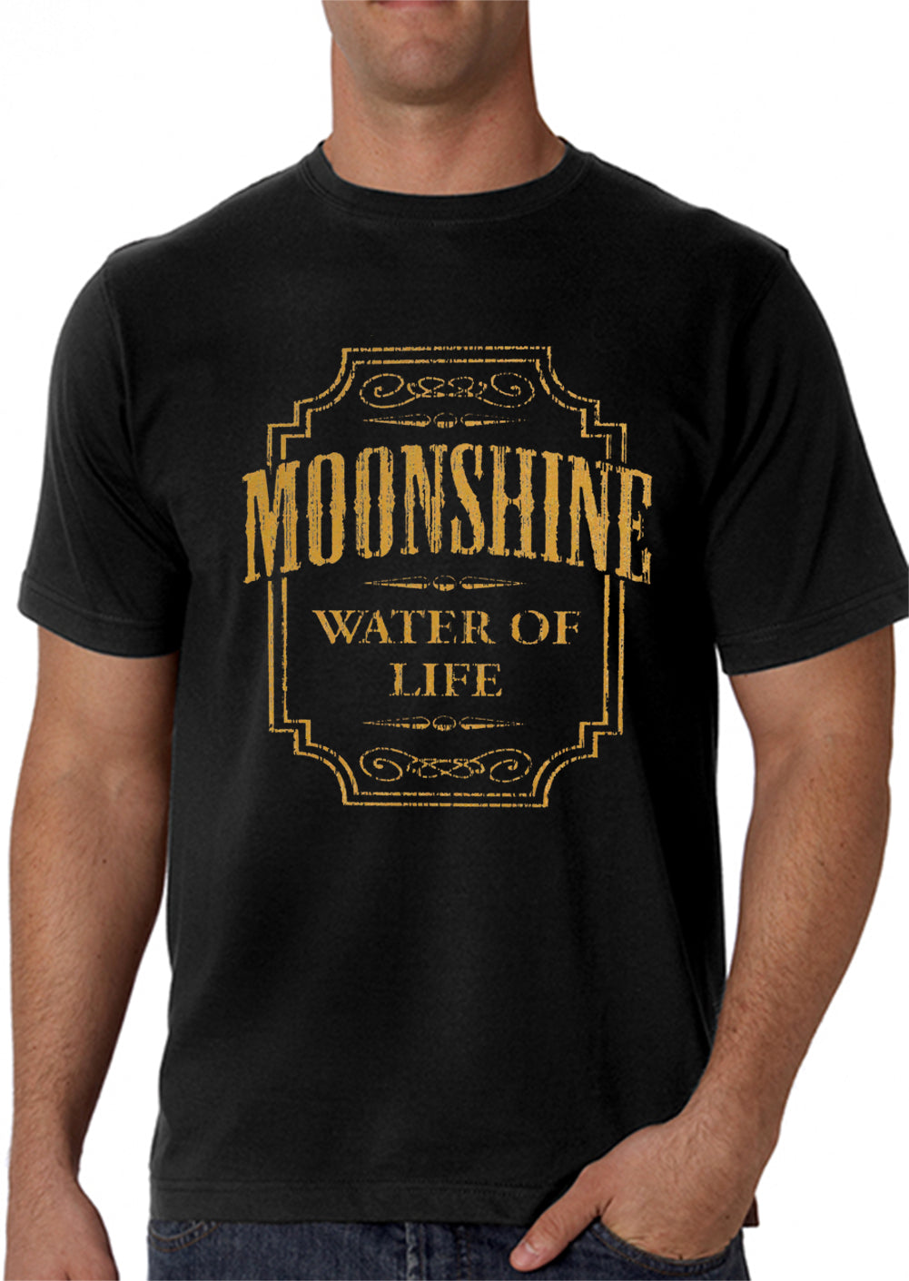 Moonshine - Water Of Life Men's T-Shirt