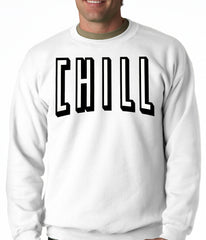 Movie & Chill Funny Hook-up Adult Crewneck