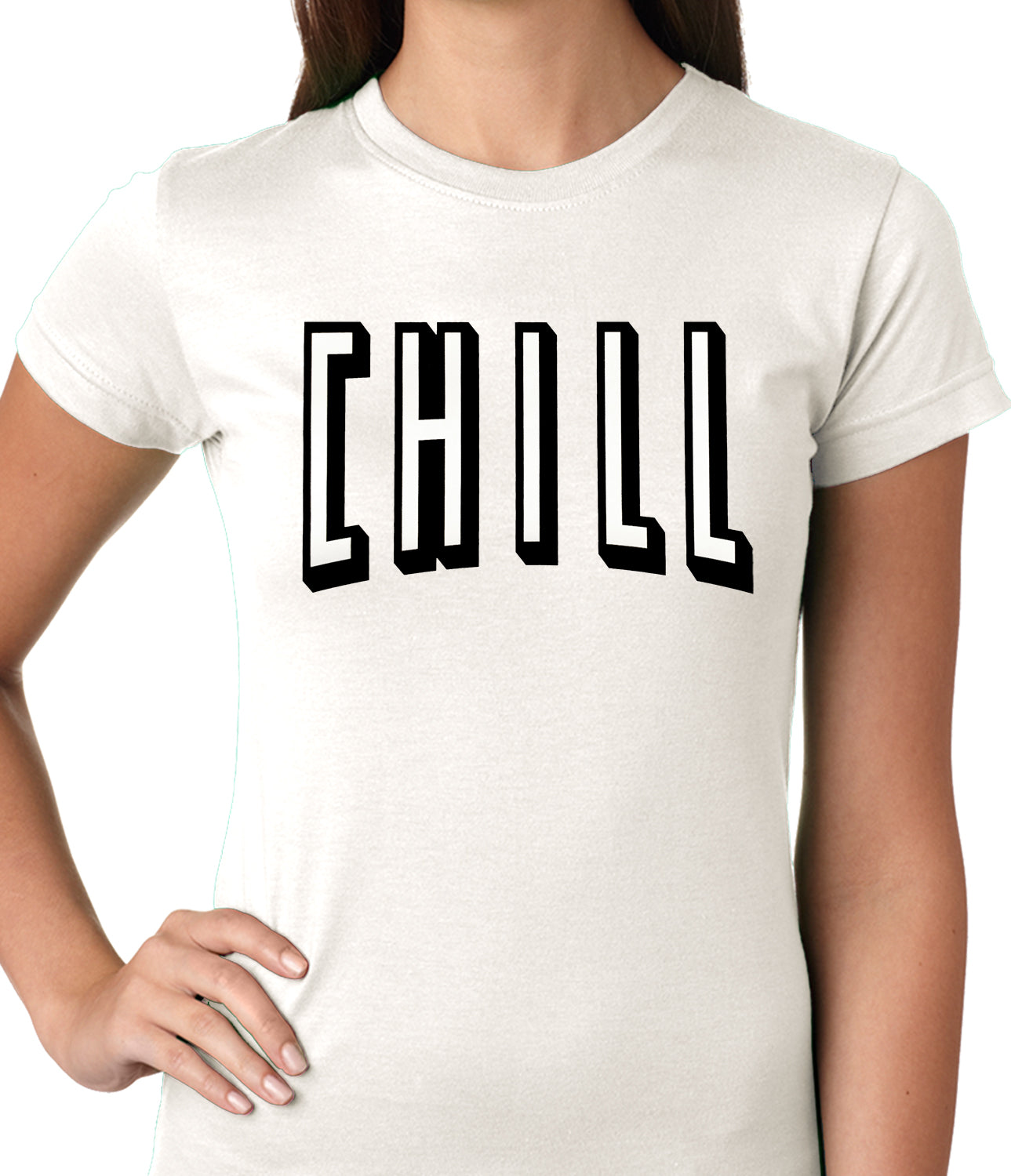 Movie & Chill Funny Hook-up Ladies T-shirt