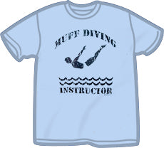 Muff Diving Instructor T-Shirt