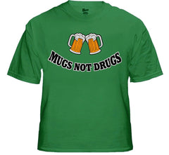 Mugs Not Drugs Mens T-Shirt