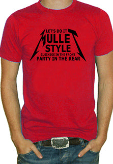 Mullet Style T-Shirt