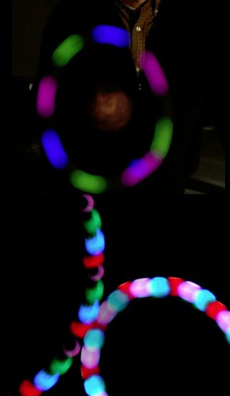 Multicolored Strobe Globe LED Raver Club Toy