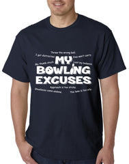 My Bowling Excuses Mens T-shirt